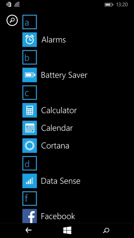 Lumia 640 XL screenshot