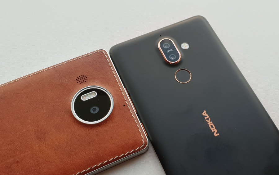 Lumia 950 XL and Nokia 7 Plus