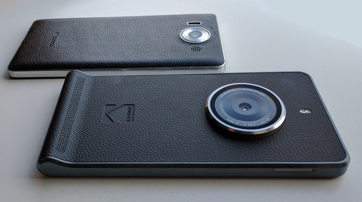 Lumia 950 and KODAK EKTRA