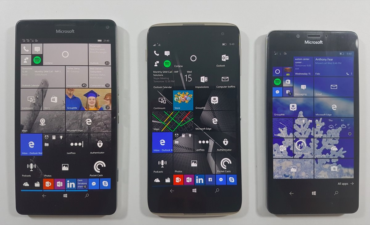 Alcatel IDOL 4S with Windows 10 (and VR)