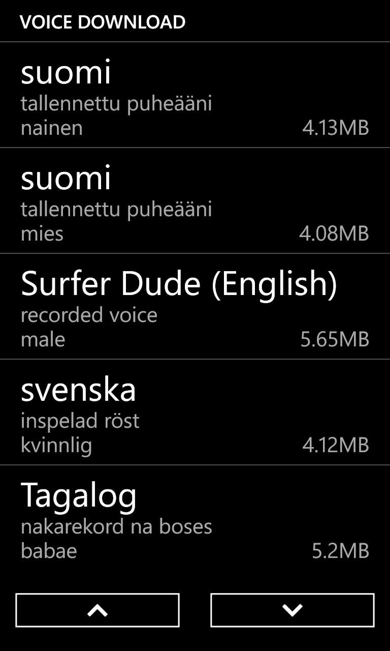 Screenshot, Windows Phone 8 GDR2 walkthrough