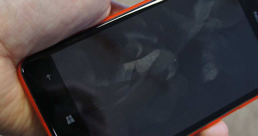 Lumia 625 screen