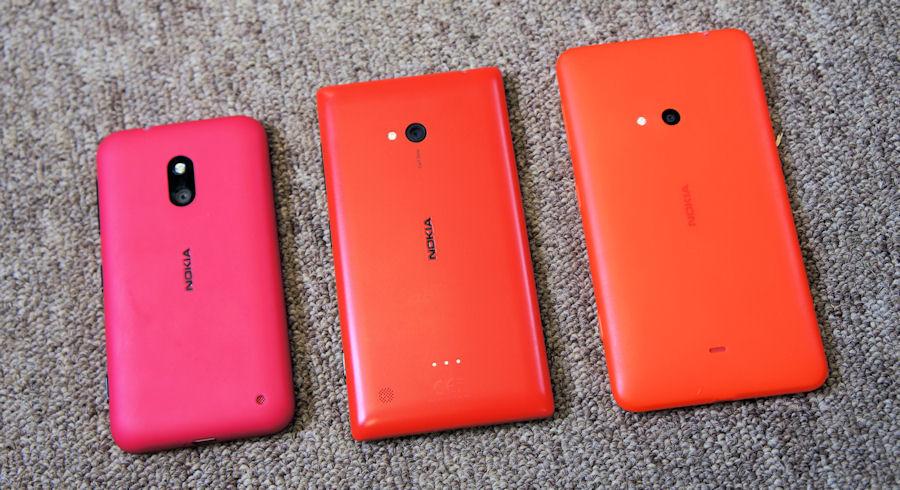 Lumia 625 size