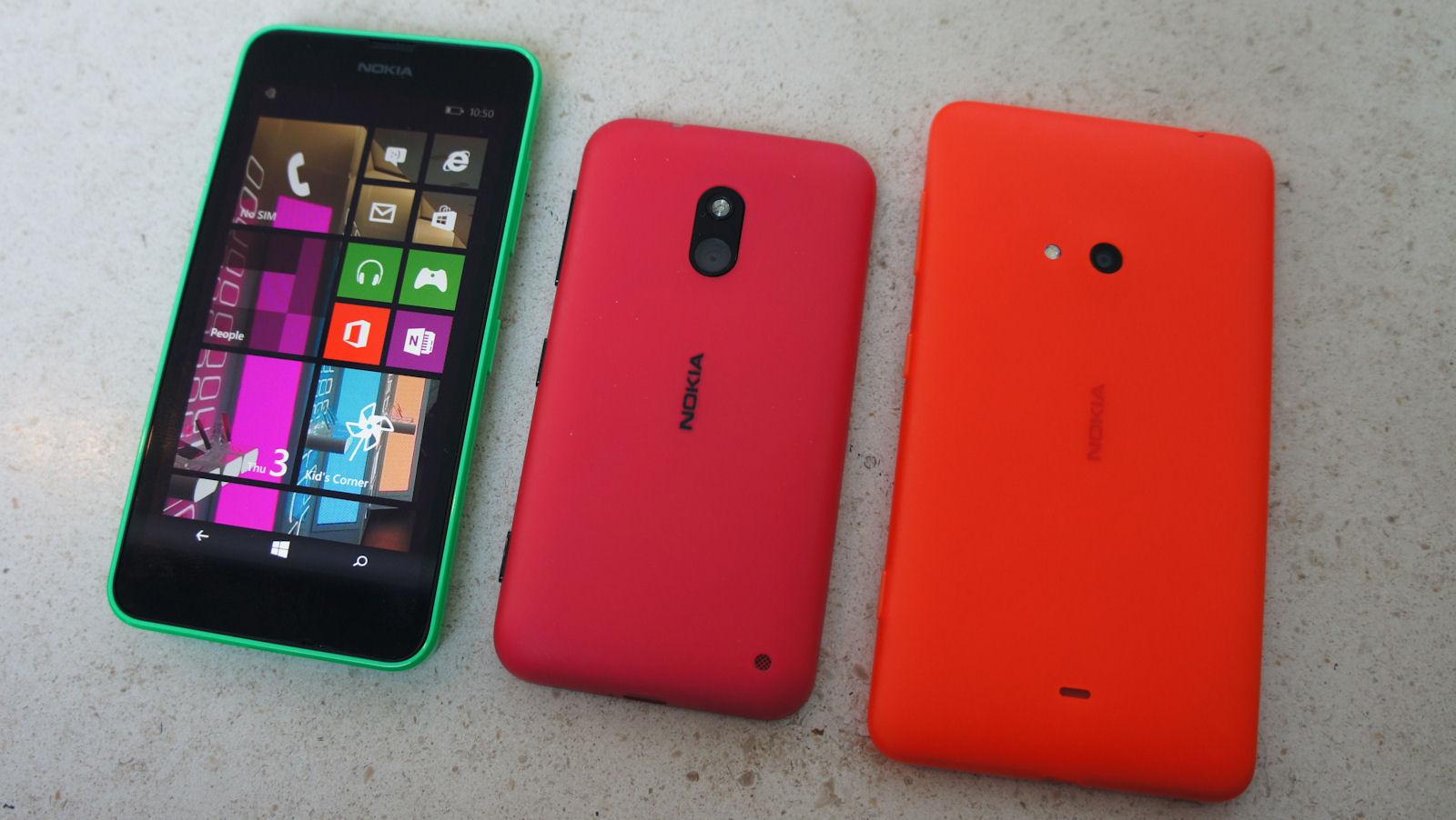 6cd9722ff71 Nokia Lumia 630 and 635