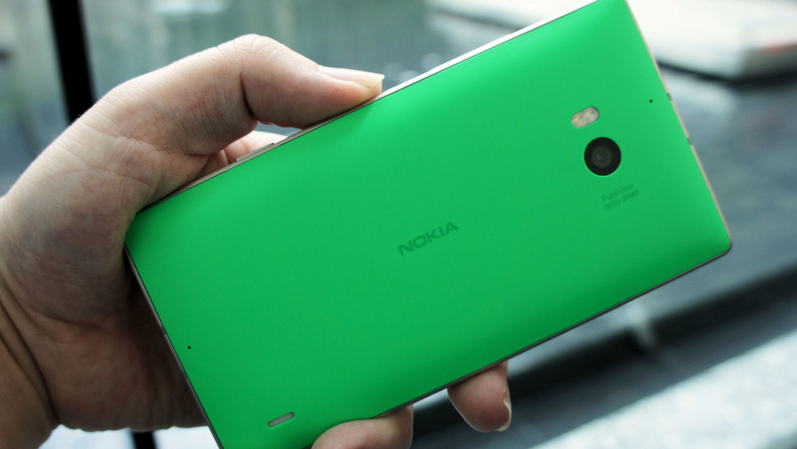 Lumia 930, which we'll be seeing Lumia Camera 5 on very soon