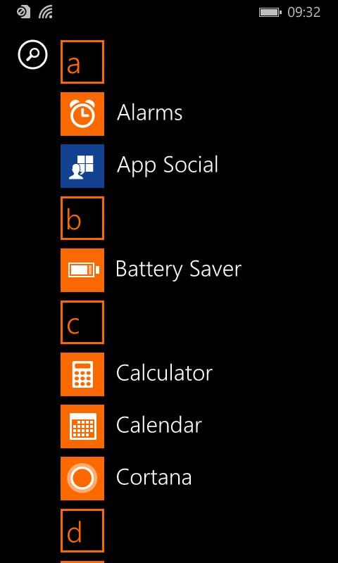 Lumia 435 screenshot