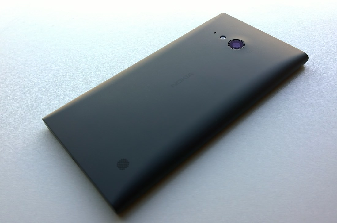 Back of Lumia 735/730