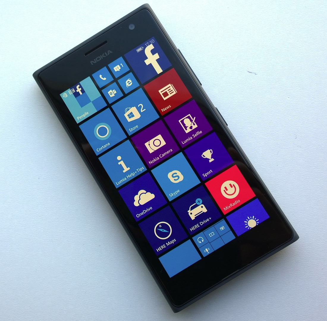 Front of Lumia 735/730