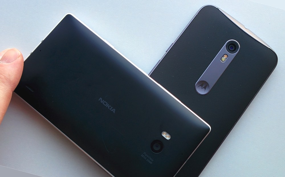 Moto X Style and Lumia 930
