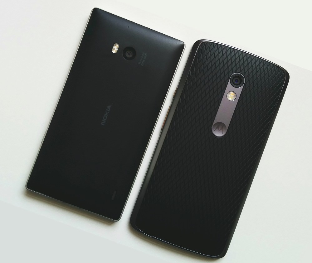 Lumia 930 and Motorola Moto X Play