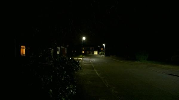 Overall test scene